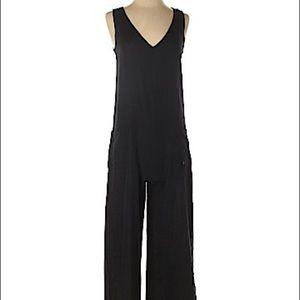 Roxy wide leg linen jumpsuit